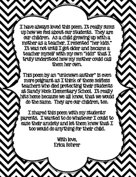 Print Of Whose Child Is This Poem Free Printable By Erica Bohrer