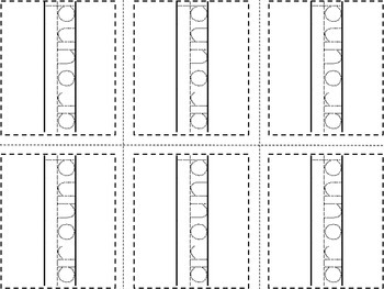 Print.Cut.Trace. Second Grade Dolch Flashcards
