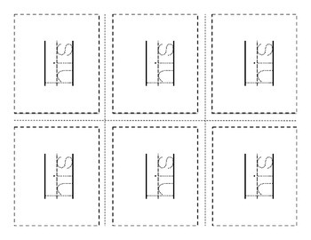 Print.Cut.Trace. Kindergarten Dolch Flashcards