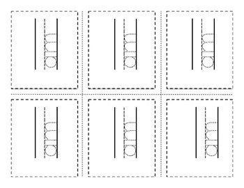 Print.Cut.Trace. Kindergarten High Frequency Word Reading Street Flashcards