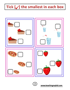 FREE Kindergarten Maths Activity Book