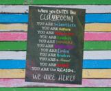 Printable 18x24 Poster - Back to School - Classroom Decor