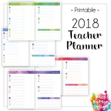Printable 2018 Teacher Diary Planner - SA (Private) School Term Dates