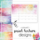 Printable 2019 Calendar - Monthly - Northern Territory NT - Paint Texture Design