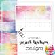 Printable 2019 Calendar - Monthly - Tasmania TAS - Paint Texture Design