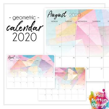 Printable 2019 Calendar Editable Teaching Resources Teachers Pay