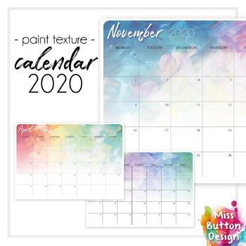 Printable 2019 Monthly Calendar Australian Capital Act Paint