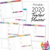 Printable 2019 Teacher Diary Planner - NSW (Western District) School Term Dates