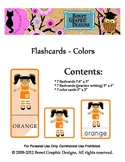 Printable 21 Flashcards - Colors