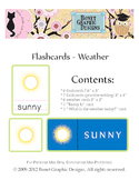 Printable 21 Science Flashcards - Weather