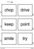 Printable 36 Verbs Set 3 Ready to Print and Cut
