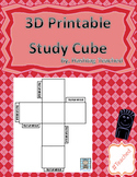 Printable 3D Study Cube (FREEBIE)