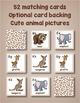 Printable A to Z Animal Matching Game