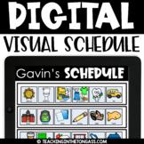 Printable AND Digital Visual Schedule (PowerPoint or Googl