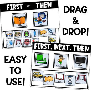 Printable AND Digital Visual Schedule