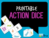 Printable Action Dice for Review Games or Activities - ANY Subject ANY Level