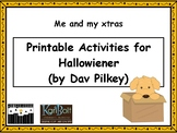 Printable Activities for Hallowiener (by Dav Pilkey)