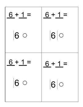 Printable Addition Strategy Cards- 1st Grade