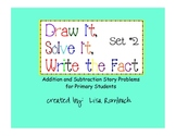 Printable Addition & Subtraction Story Problems Set 2 Primary Grades