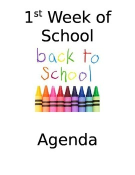 Printable Agenda