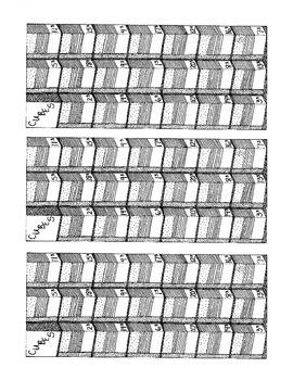 Printable Algebra Bookmarks Cubes Third Power PDF Printable Math Practice