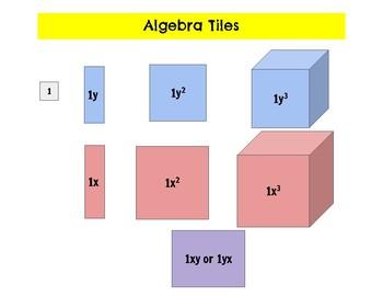 Printable Algebra Manipulatives