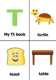 Printable Alphabet Book - Letter T