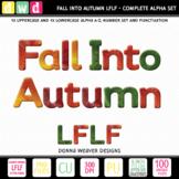 Printable Alphabet FALL INTO AUTUMN LFLF Seasonal Letters