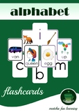 Free Printable Alphabet Flashcards for Teaching Phonics