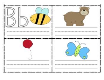 printable alphabet mini boo by amanda parker teachers pay teachers. Black Bedroom Furniture Sets. Home Design Ideas