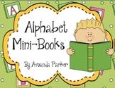 Printable Alphabet Mini Books for Handwriting Practice