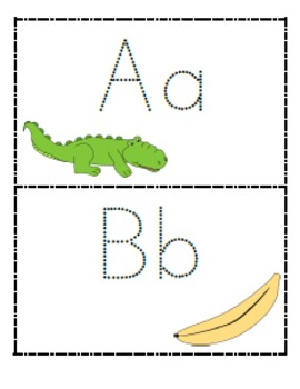 Printable Alphabet Tracing Books for Letter Recognition