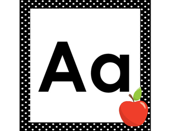 Printable Alphabet Word Wall Headers. Preschool-5th Grade ELA.