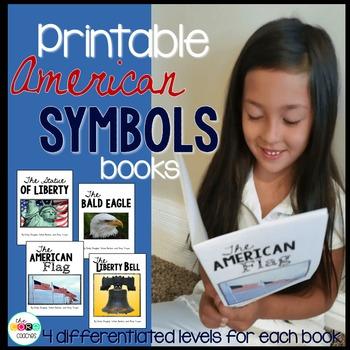 Easy Reader Printable American Symbols Books