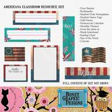 Printable Americana Classroom Resource Set