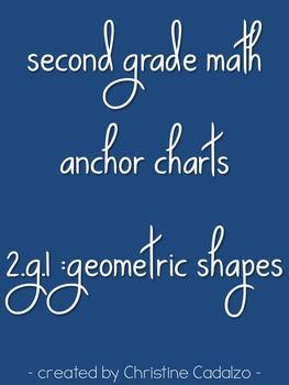 Printable Anchor Charts - 2.G.1