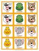 Animal Matching Card Game for Kindergarten