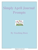 Printable April Journal Prompts