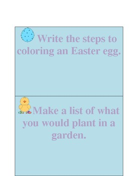 Printable April Journal Prompts