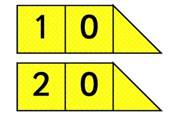 Printable Arrow cards Tens and Units