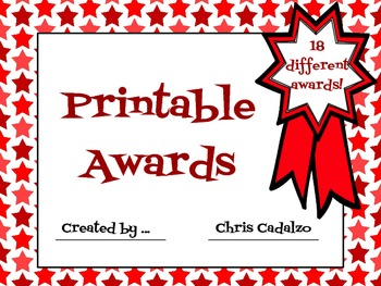 photo relating to Printable End of the Year Awards for Students called Stop of the Calendar year Awards Certificates - Printable