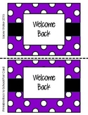 Printable Back to School Postcard