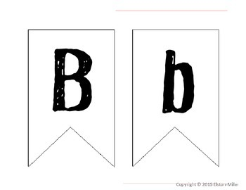 Printable Pennant Templates