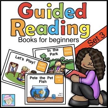 Guided Reading Books for Kindergarten First Grade Set 3