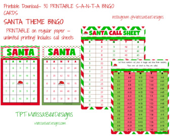 graphic about Printable Bingo Calling Cards referred to as Printable Bingo Playing cards Q30 within Xmas Topic with get hold of sheets