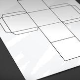 Printable: Blank Cube Template