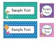 Editable Blank Labels in Candy Shop Theme