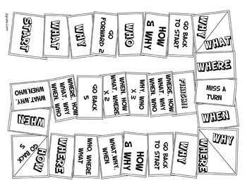 photograph relating to Printable Board Game referred to as Printable Board Video game toward Teach Surprise Words and phrases