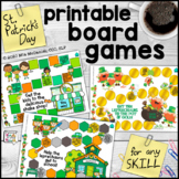 Printable Board Games for Any Skill     St. Patrick's Day