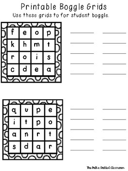 Delicate image throughout boggle printable